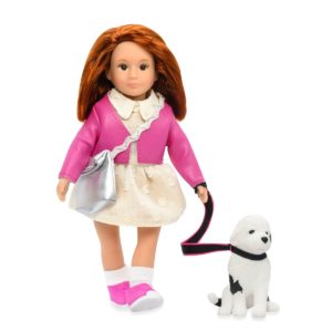 Emmelina & Otis | 6-inch Doll with Pet | Lori
