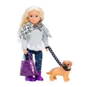 Sammie & Sahara | 6-inch Doll with Pet | Lori