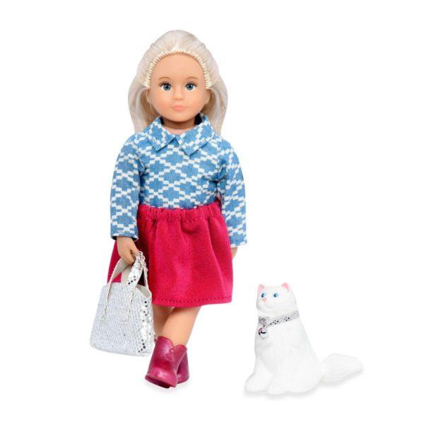 Kaydence & Kiki | 6-inch Mini Doll & Toy Cat | Lori