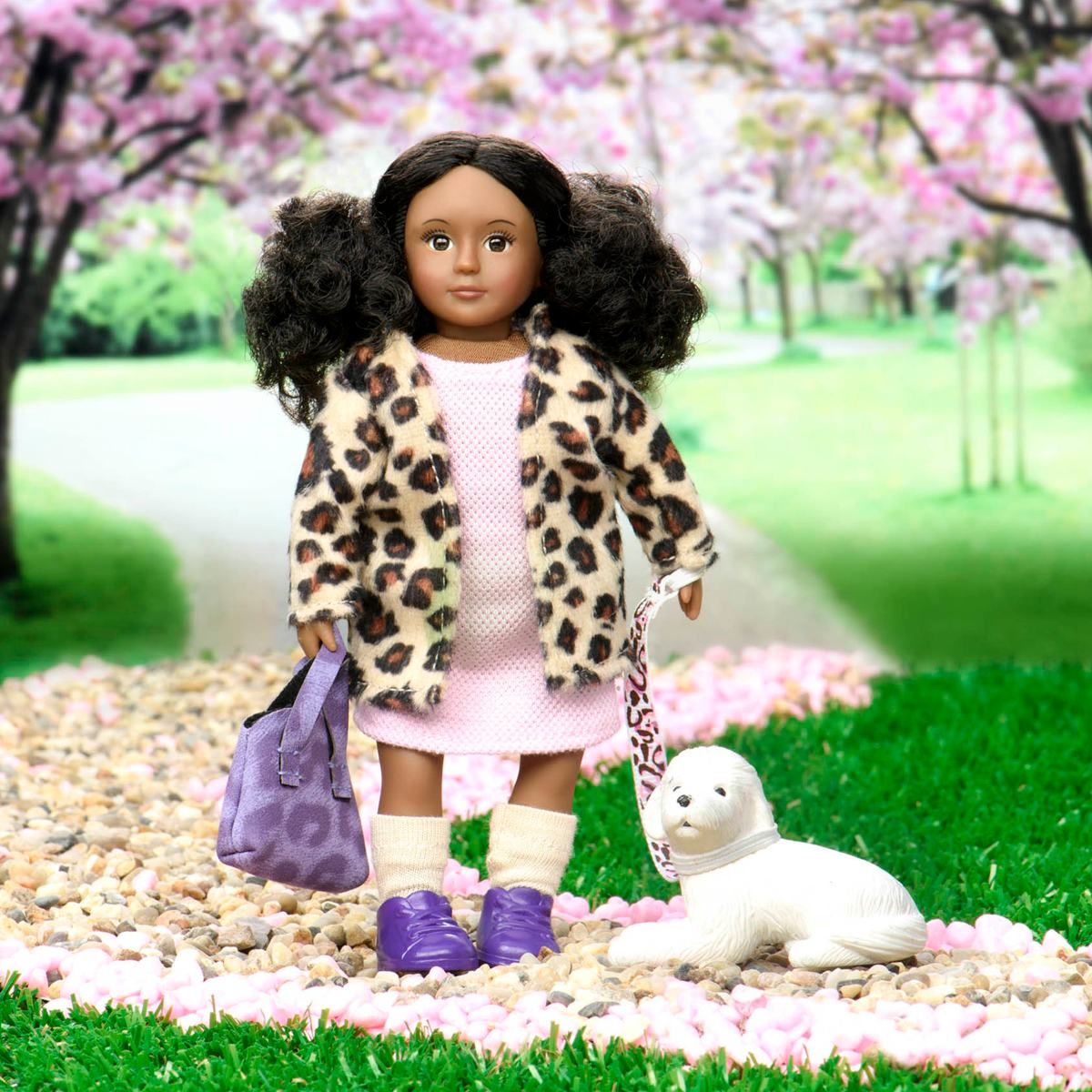Lori LO31182Z 6 Doll /& Pet Yorkshire Terrier