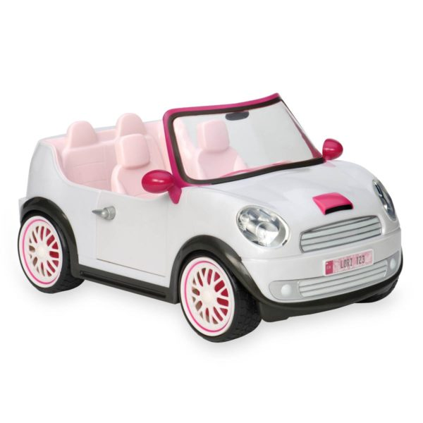 Go Everywhere Convertible|Miniature Dollhouse Accessory|Lori Doll