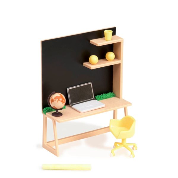 Home Workspace Set |Miniature Dollhouse Accessories|Lori Dolls