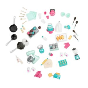 Mix & Bake | Mini Doll Kitchen Accessories | Lori