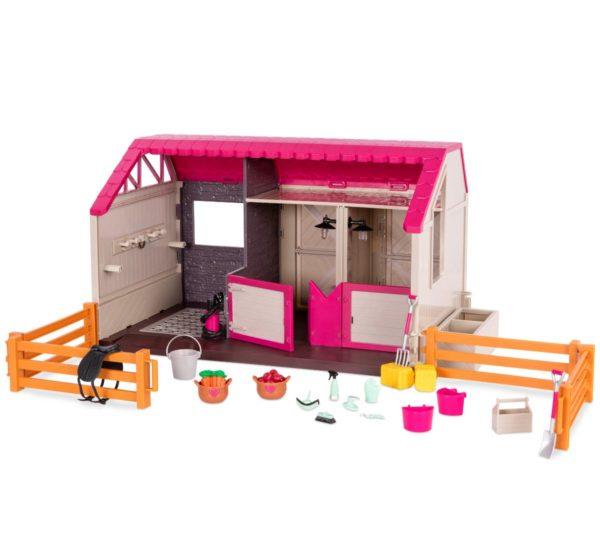 Horse Haven Barn | Mini Doll Accessories | Lori