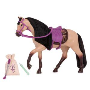 Buckskin Warmblood Horse 6-inch Horses Mini Small Doll Lori Dolls