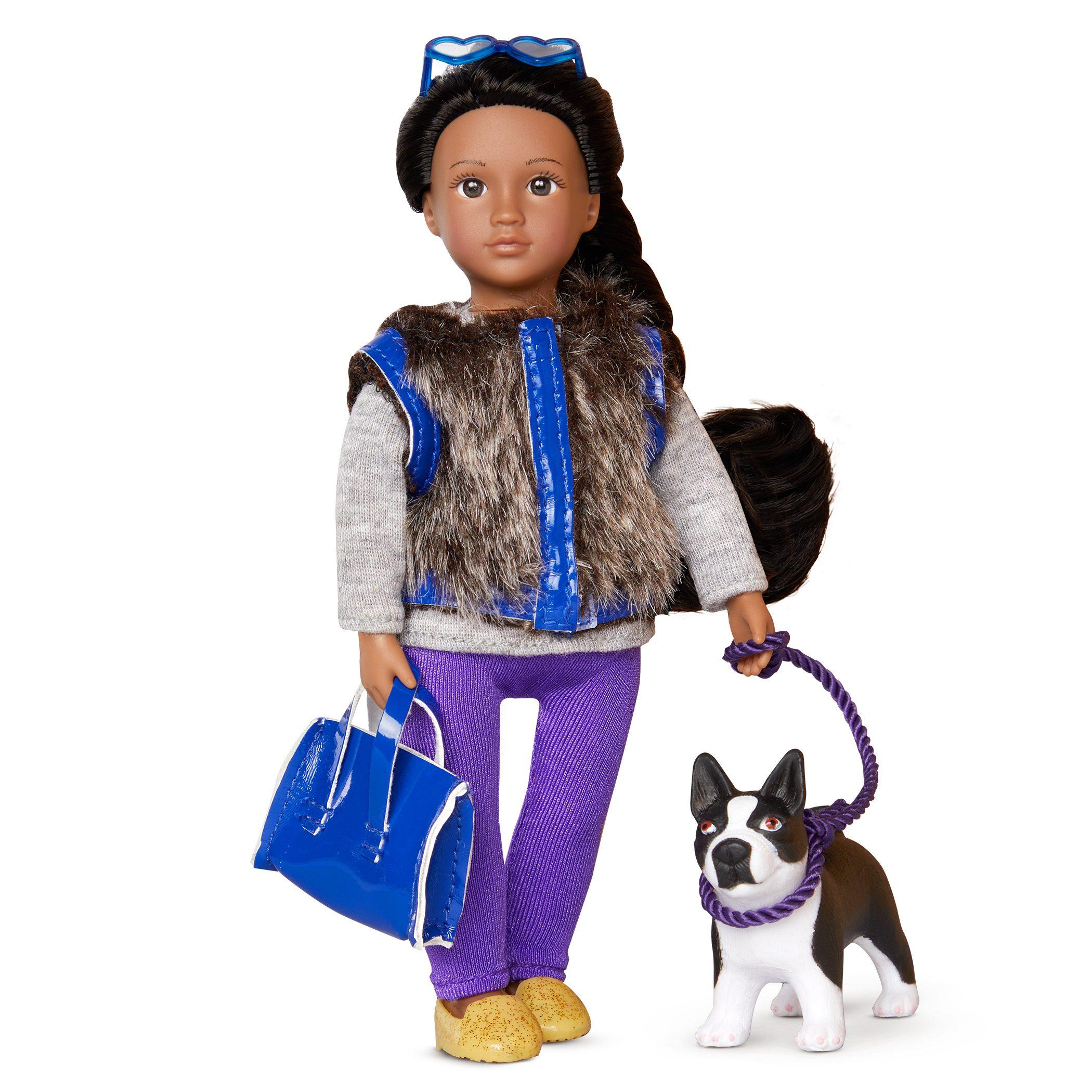 Ilyssa & Indigo | 6-inch Fashion Doll with Dog | Lori