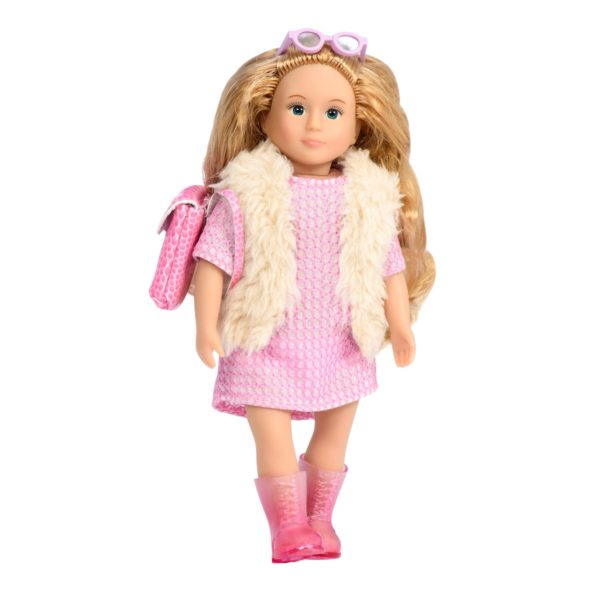 Nora 6-inch Doll | Miniature Fashion Doll | Lori Dolls