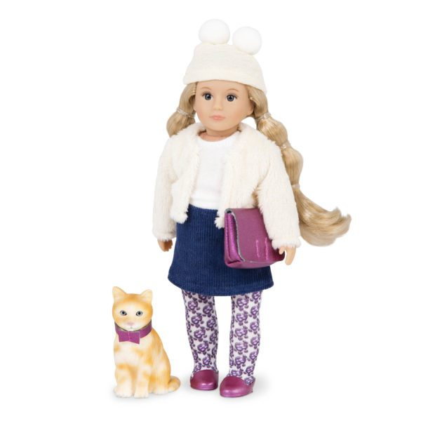 Lilith & Clover   6-inch Mini Fashion Doll & Cat Set   Lori
