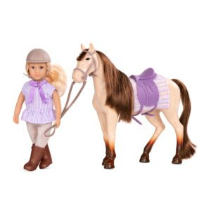 Marjorie & Maple | 6-inch Doll with Toy Horse | Lori