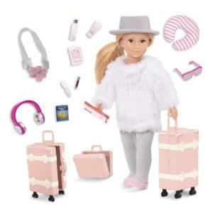 Leighton's Travel Set | 6-inch Doll & Accessories | Lori