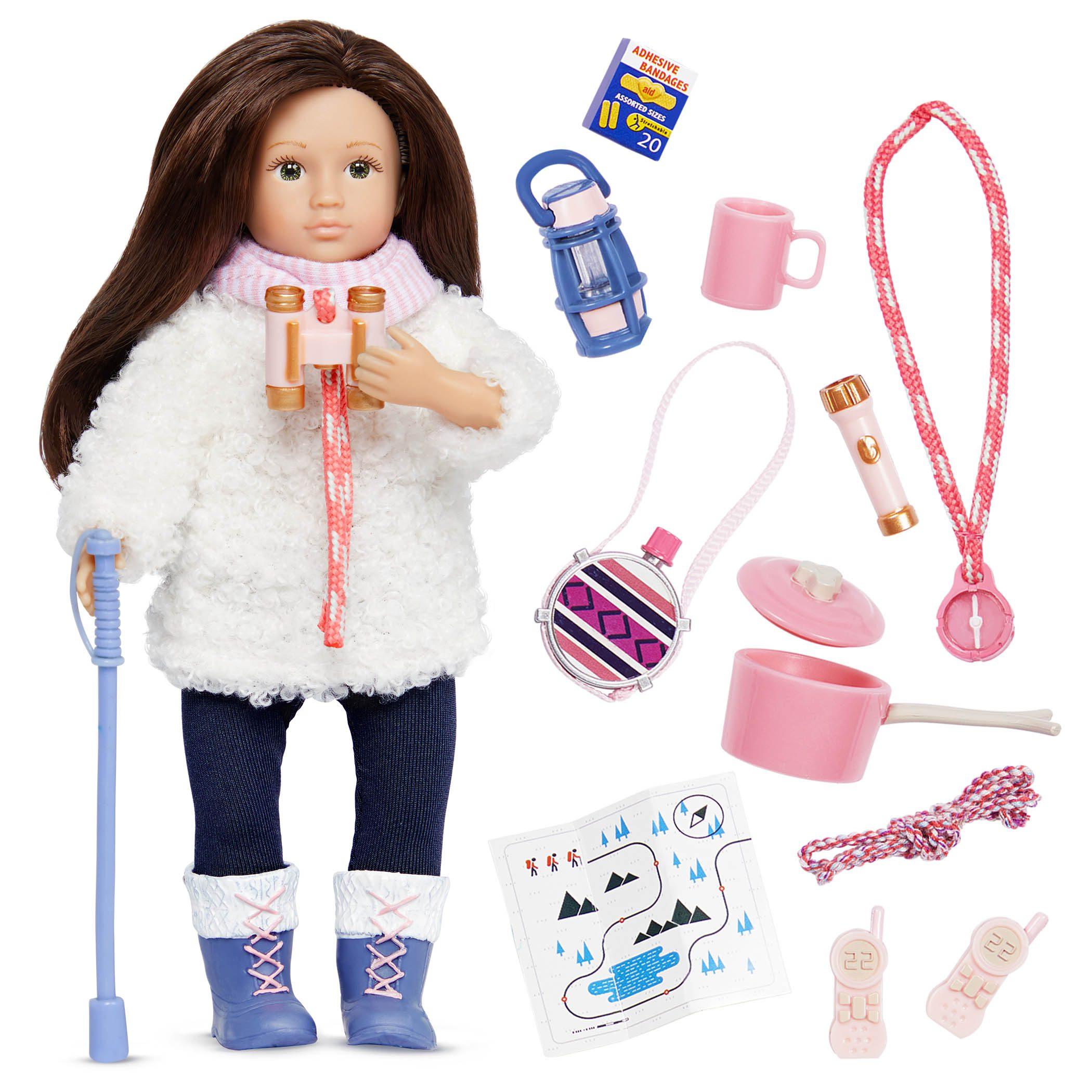 Farah's Hiking Set | 6-inch Doll & Accessories | Lori