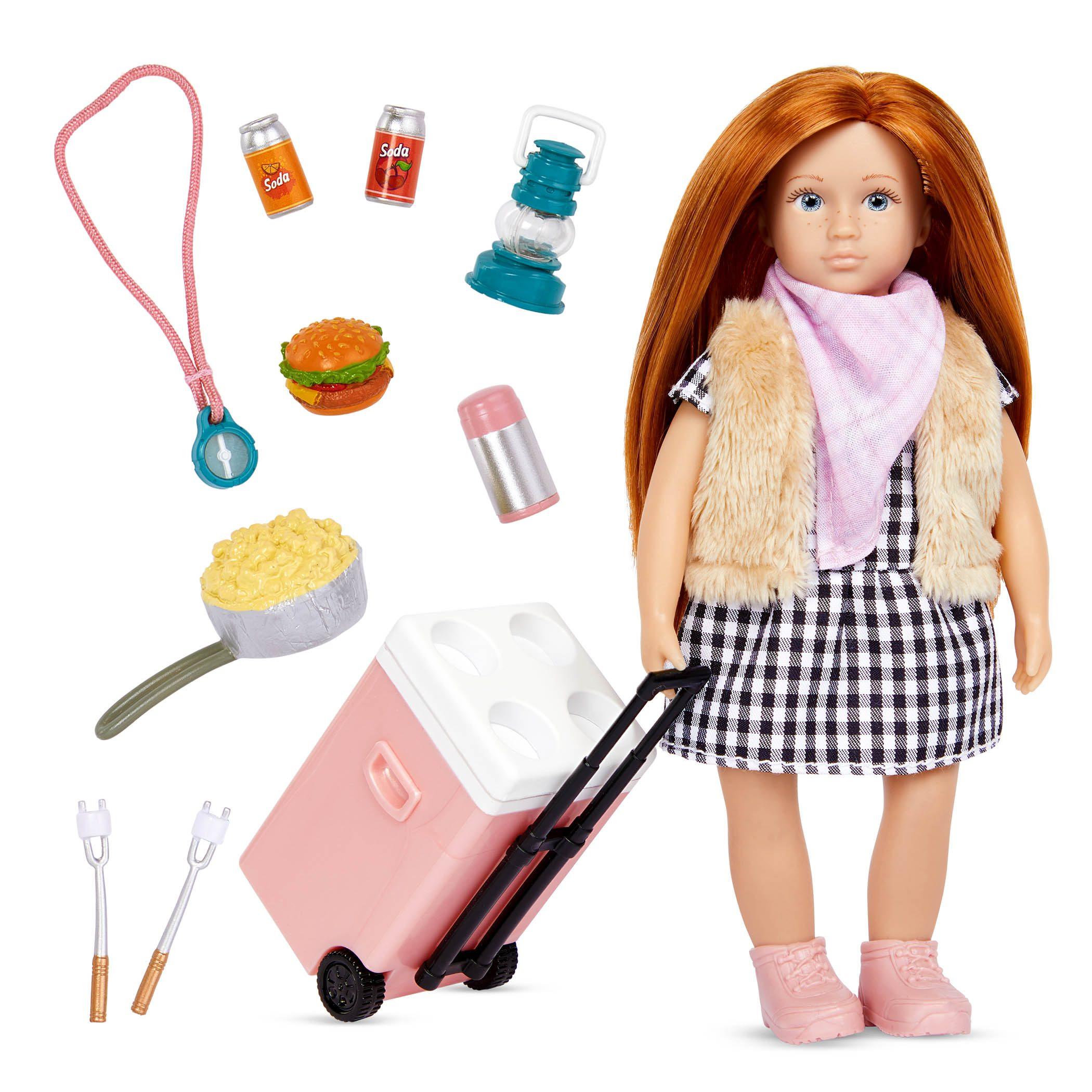 Jenna's Camp Set | 6-inch Doll & Accessories | Lori