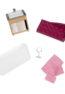 Luxury Bathroom Set   Playset for Mini Dolls   Lori Dolls