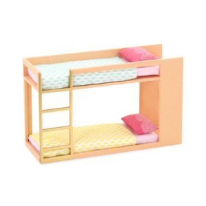 Urban Chic Bunk Bed | Playset for Mini Dolls | Lori