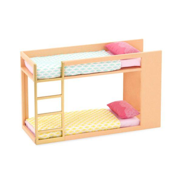 Urban Chic Bunk Bed | Playset for Mini Dolls | Lori