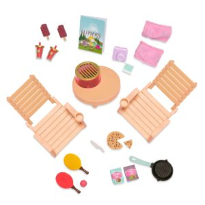 Roadside Refreshments | Picnic Set for 6-inch Dolls | Lori Dolls