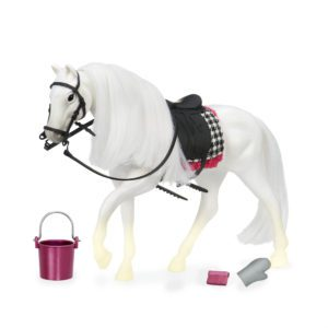 White Camarillo Horse | Horse for 6-inch Dolls | Lori
