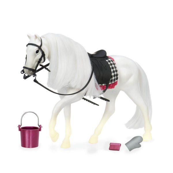 White Camarillo Horse | Horse for 6-inch Dolls | Lori