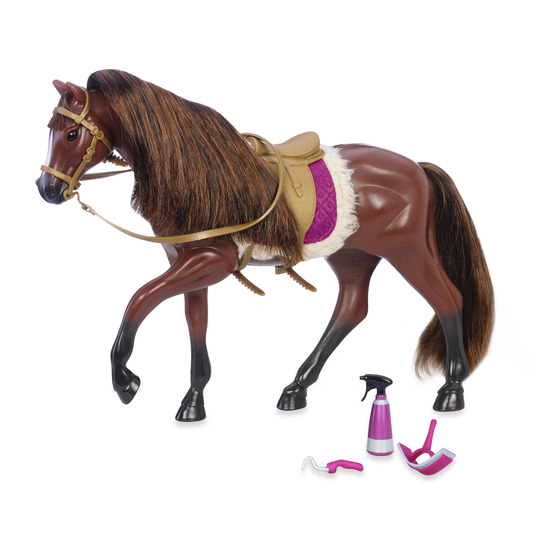 Brown American Quarter Horse | Horse for 6-inch Dolls | Lori