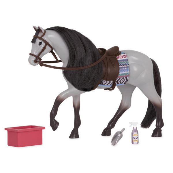 Blue Roan Horse | Horse for 6-inch Dolls | Lori